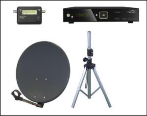 Caravan Satellite Kit